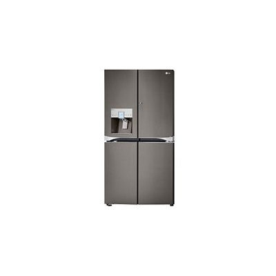 LG LPXS30886D 29.6 cu. ft. 4-Door French Door Refrigerator with 4 Adjustable Glass Shelves, Gallon Door Storage, Door in Door, Smart Cooling Plus System, External Ice & Water Dispenser, 3-Tier Water Filtration System, Slim SpacePlus Ice System and Energy Star Qualified