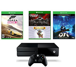 Microsoft Corp. Xbox One 1TB Bundle w/ Forza Horizon 2, Gears of War, and More