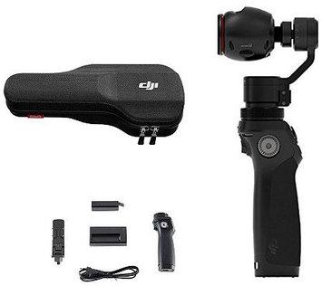 Dji Osmo 4K 12.4MP Camera & 3-Axis Gimbal w/ ExtraBattery & Accs.