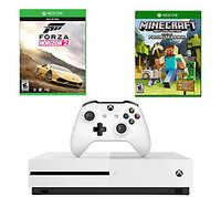 Microsoft Corp. Xbox One S 2TB with Forza Horizon 2 & MinecraftFavorites Pack
