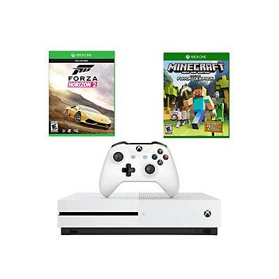 Microsoft Corp. Xbox One S 2TB with Forza Horizon 2 & MinecraftFavorites Pack