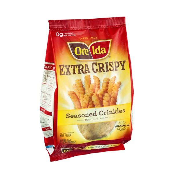 Ore-Ida Seasoned Crinkles Extra Crispy