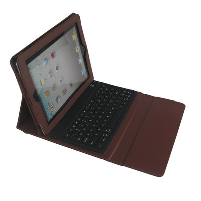 Techni Mobili 2COOL iPad Portfolio with Bluetooth Keyboard Color: Brown