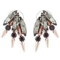 Elizabeth Cole Jewelry Brass Hawk Earrings