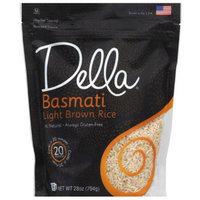 Della Gourmet Della Basmati Light Brown Rice, 28 oz, (Pack of 6)