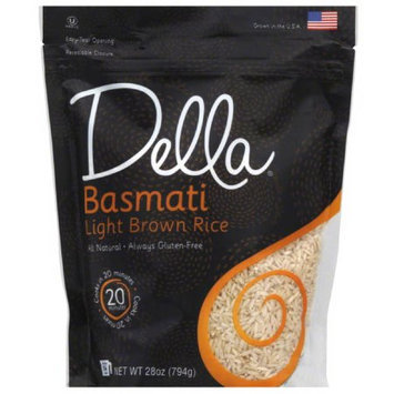 Della Gourmet Della Basmati Light Brown Rice, 28 oz, (Pack of 6)