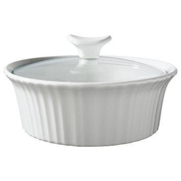 CorningWare 1.5 Quart Ceramic Baking Dish - White
