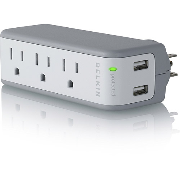 Belkin B2E006 Mini Surge/USB Charger