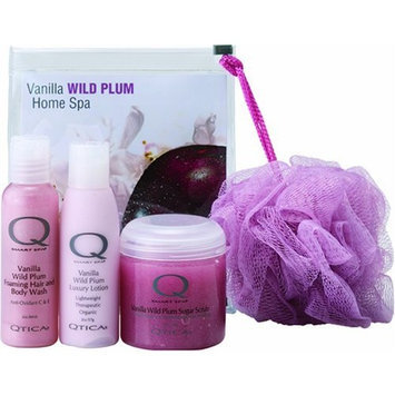 QTICA Smart Spa Vanilla Wild Plum Home Spa Kit