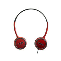 Sentry HO304 Headart Extreme Folding Earphones, Red