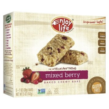 Enjoy Life Mixed Berry Baked Chewy Bars 5 pk