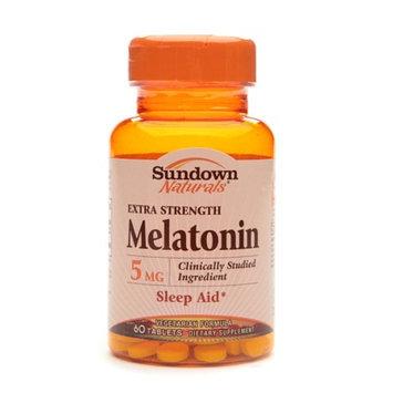 Sundown Naturals Melatonin 5mg Extra Strength
