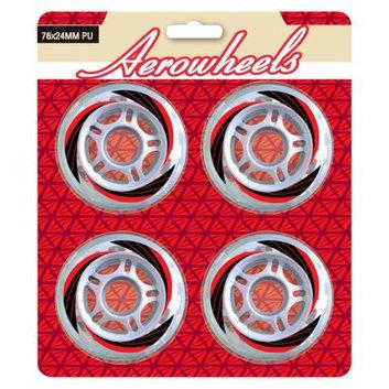 JNJ Sports Adult Aerowheels 4pk wheel Skate - Blue/ Black