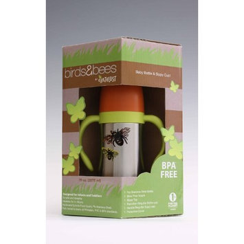 Earthlust Birds and Bees Baby Bottle, Bees (Discontinued by Manufacturer)