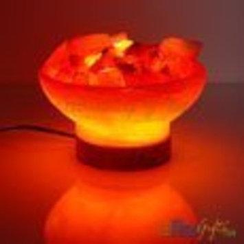 Indus Classic Unique Gift Ideas Fire Bowl Crystal Salt Lamp