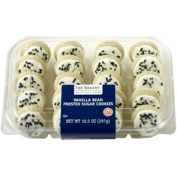 Wal-mart Bakery The Bakery Mini Vanilla Bean Frosted Sugar Cookies, 20 count, 10.5 oz.
