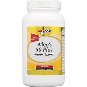 Vitacost Brand Vitacost Men's 50 Plus Multi Vitamin -- 120 Tablets