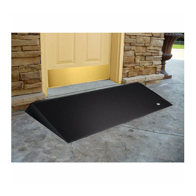 EZ-Access Rubber Threshold Ramps with Beveled Edges (Set of 2)