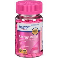 Equate Allergy Relief Tablets, 25mg, 365 count