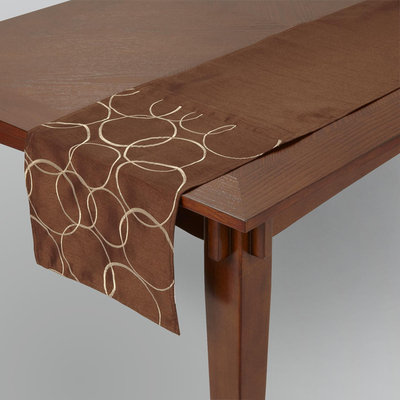 Textiles From Europe, Inc. Dylan Brown Table Runner