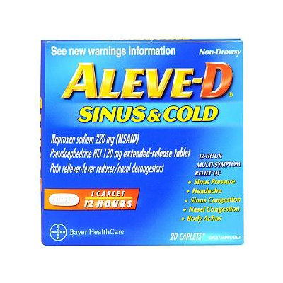 Aleve-D Sinus & Cold