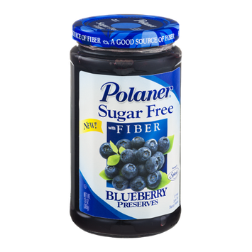 Polaner Blueberry Preserves Sugar Free with Fiber