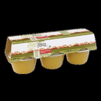 Nature's Promise Organics Organic Applesauce Unsweetened 4 OZ Cups