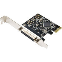 SYBA Multimedia Syba Multimedia 1-port PCI Express Parallel Adapter SD-PEX10005