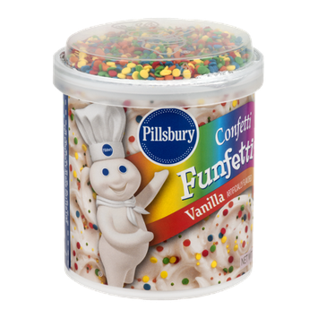 Pillsbury Confetti Funfetti Frosting Vanilla