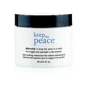 philosophy keep the peace moisturizer