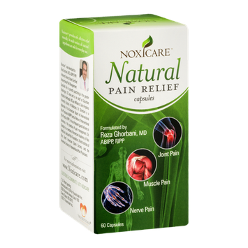 Noxicare Natural Pain Relief Capsules - 60 CT