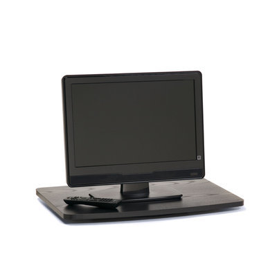 Convenience Concepts Single TV/Monitor Swivel Board in Wood Grain