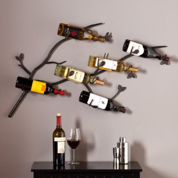 Southern Enterprises, Inc. Southern Enterprises Salerno Wall Mount Wine Rack