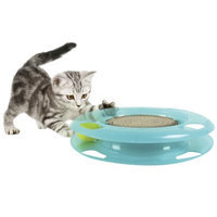 Sportpet Kitty City Swat Track and Scratcher - 11