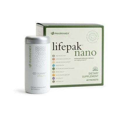 Nu Skin NuSkin Pharmanex LifePak Nano + ageLOC Vitality (1 each)