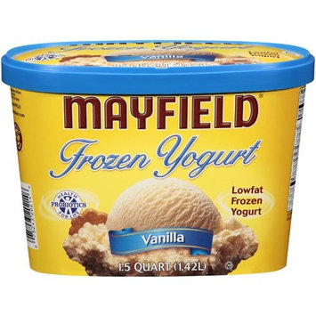 Mayfield Vanilla Frozen Yogurt, 1.5 qt