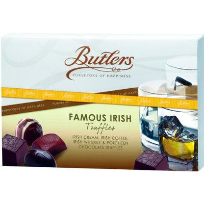 Butlers Assorted Truffle Box, Famous Irish 4.41 Oz