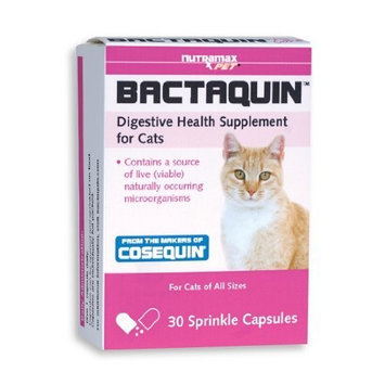 Nutramax Bactaquin Capsule for Cats, 30 Count