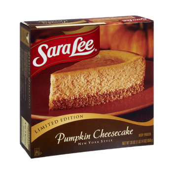 Sara Lee New York Style Pumpkin Cheesecake