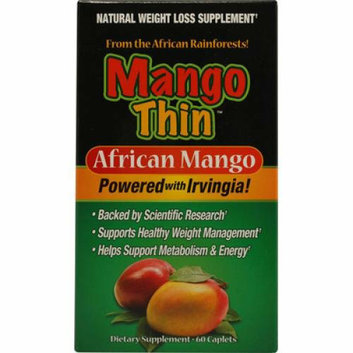 Windmill Health Products Mango Thin with Raspberry Ketone and Green Tea 60 Tablets