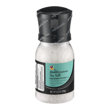 Ahold Mediterranean Sea Salt Adjustable Grinder