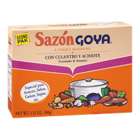 Goya Sazon Coriander & Annatto Seasoning