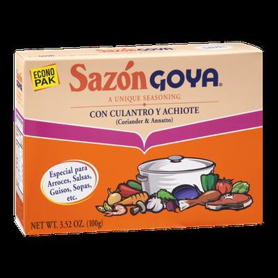Goya Sazon Coriander & Annatto Seasoning