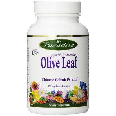 Paradise Herbs Olive Leaf Vegetarian Capsules, 120 Count