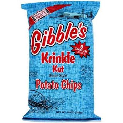 Gibble's Krinkle Kut Potato Chips, 10 oz