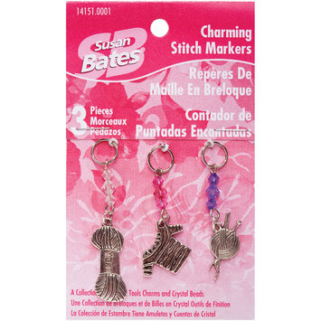 Coats & Clark Inc. Susan Bates Charming Stitch Markers, Yarn Charms