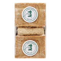 Ancient Olive Natural Olive Oil & Laurel Oil Bar Soap with Loofah Scrub, Natural, 1 set