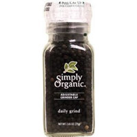 Simply Organic Daily Grind - Healthy Black Pepper, 2.65 oz,(Frontier)