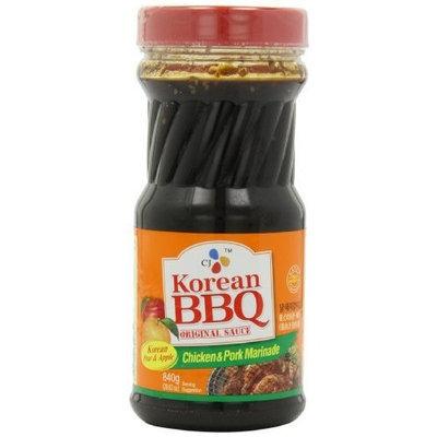 CJ Chicken & Pork Marinade Korean BBQ Sauce, 29.63 Ounce Bottles (Pack of 4)