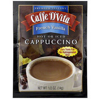 Caffe D'vita French Vanilla Instant Cappuccino, 0.5 oz (Pack of 24)